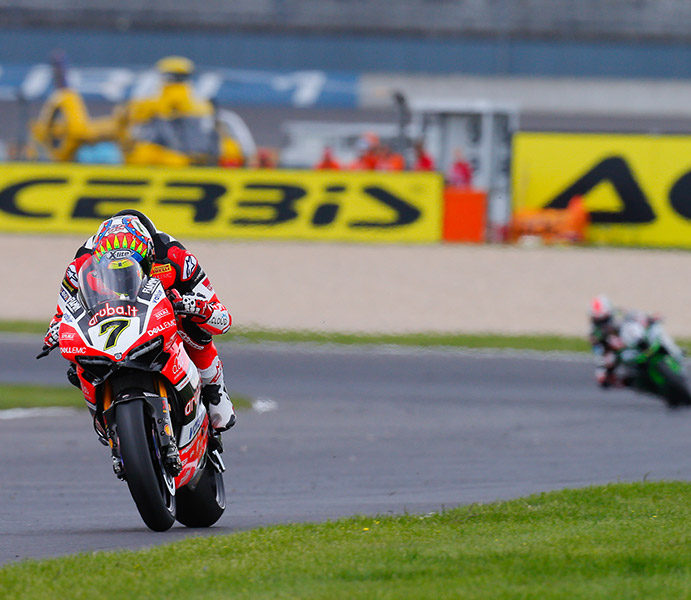 WorldSBK, Lausitzring: Chaz Davies dominates to take double in Germany