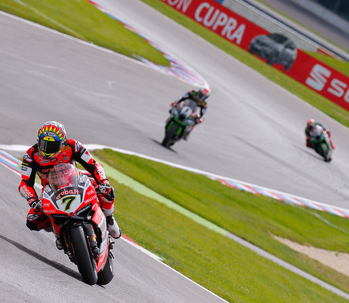 WorldSBK, Lausitzring: Chaz Davies dominates in Germany with Race One victory