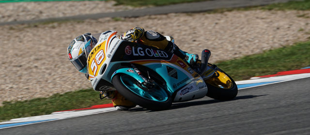 Juanfran Guevara takes third place grid slot at Brno