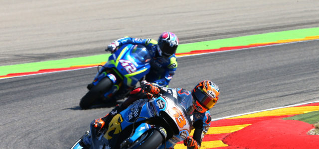 Tito Rabat in the points at Aragon