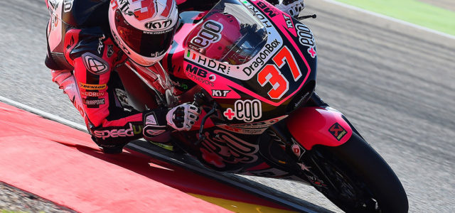Augusto Fernandez finishes 22nd in Aragon race affected by grip issues