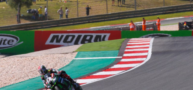 WorldSBK: Jonathan Rea takes dominating double at Portimao