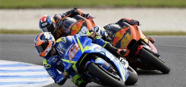 8th place for Alex Rins in Phillip Island race