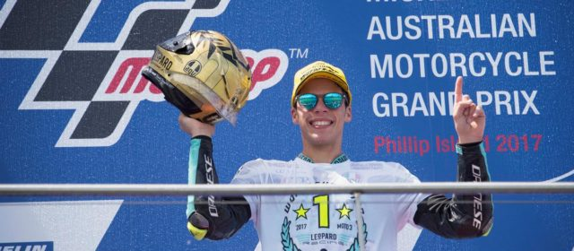 The triumphant ride of Joan Mir and Leopard Racing in Australia
