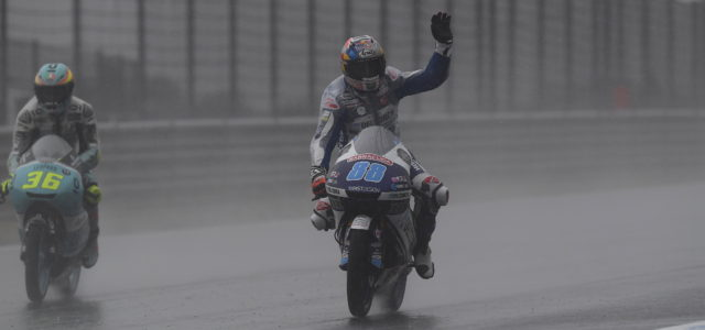 Jorge Martin in the points in Japan