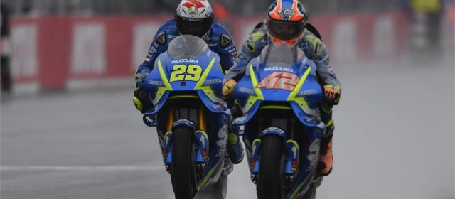 Alex Rins takes fifth in Japanese GP