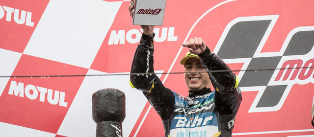 Xavi Vierge delivers wet weather masterclass to take 2nd at Motegi