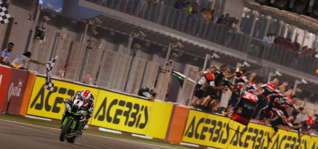 WorldSBK Qatar: Rea signs off 2017 in style with fantastic Losail victory