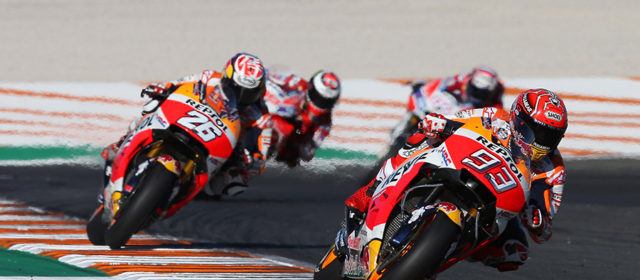 Valencia sees victory for Dani Pedrosa and title for Marc Márquez