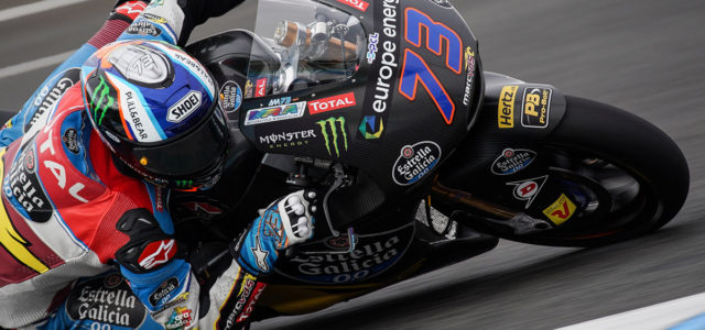 Alex Marquez on top in Moto2 as Arbolino reigns Moto3 at Jerez test