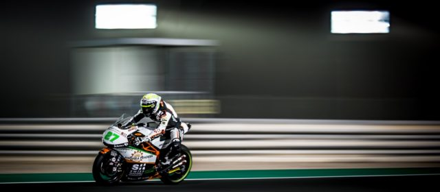 Iker Lecuona on fifth row at Losail