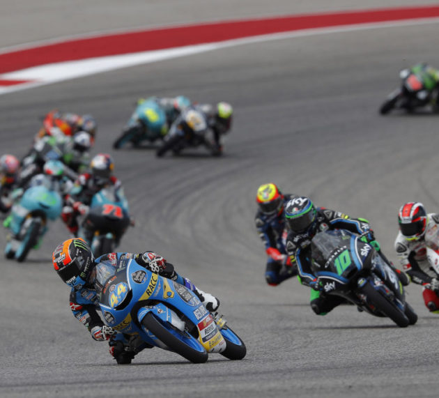 Arón Canet finishes eighth in Austin