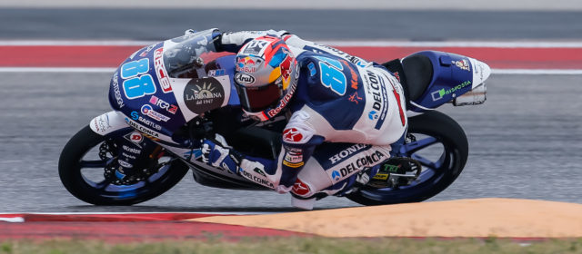 Tenth pole for Jorge Martin in Texas