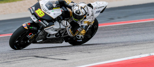 Alvaro Bautista sets to work on difficult day one in Austin
