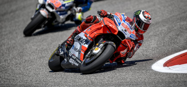 Jorge Lorenzo ends the Texan race in eleventh
