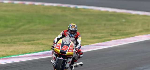Early exit for unfortunate Jorge Navarro in Argentina
