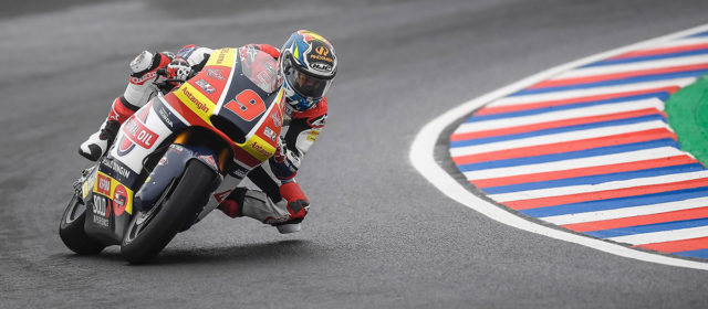 Top five in qualifying for Jorge Navarro