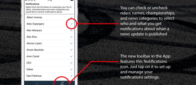 Vroom Magazine iOS App Version 1.1 introduces Notifications