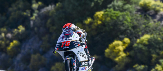 Albert Arenas is unable to finish in Jerez