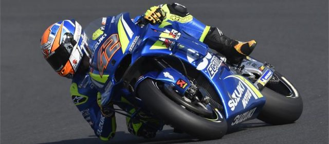 Alex Rins qualifies 15th in France