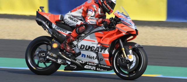 Tenth place for Jorge Lorenzo after two free practice sessions in Le Mans
