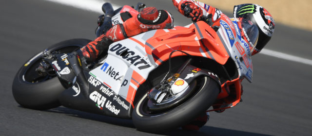 Jorge Lorenzo sixth in qualifying at Le Mans