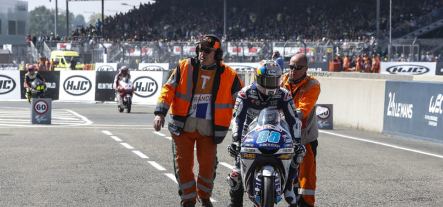 Jorge Martin not classified in French GP
