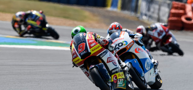 Le Mans once again proves an unlucky track for Jorge Navarro