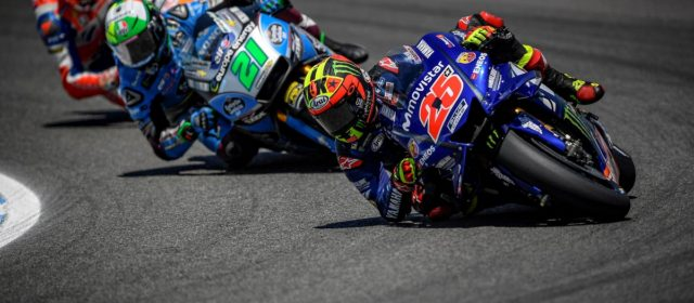 Maverick Viñales ends Jerez race 7th