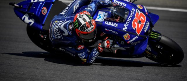 Third row start for Maverick Viñales in Le Mans