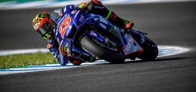 Maverick Viñales 11th in Spanish qualifying