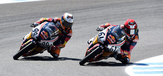 Red Bull Rookies: Tatay takes revenge in Jerez race 2
