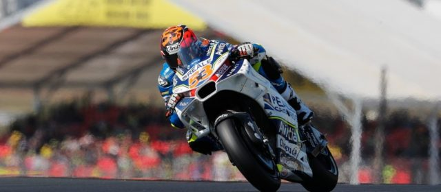 Tito Rabat in Q2 and qualifies 11th for the French GP