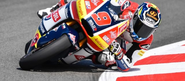 Jorge Navaroo endures 'worst Saturday of the season' in Catalunya
