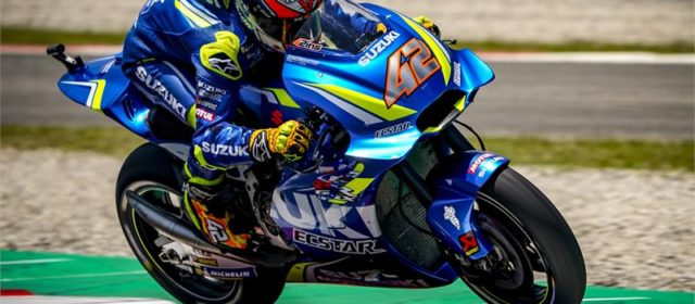 Alex Rins qualifies 15th in Catalunya