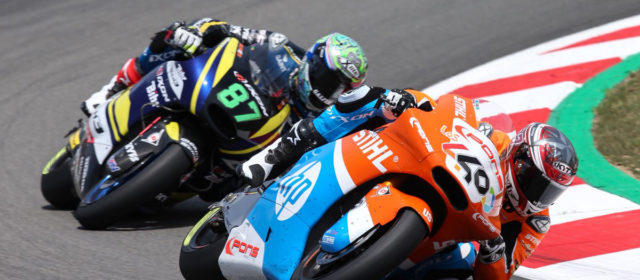 Augusto Fernandez finishes the Catalan GP in the points after good comeback
