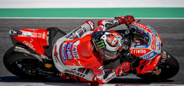 Jorge Lorenzo dominates the Italian GP
