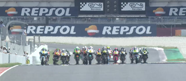 Video: FIM CEV Repsol, Catalunya Round – Moto2 race 1 highlights