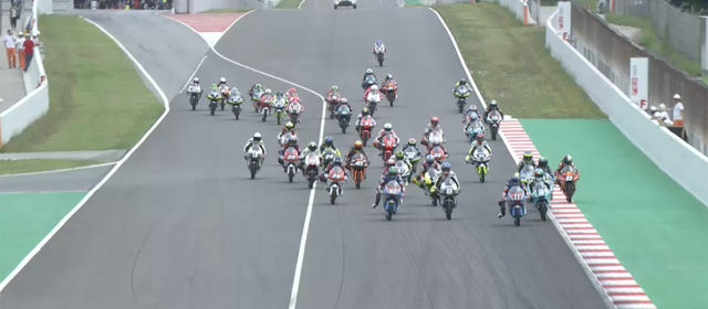 Video: FIM CEV Repsol, Catalunya Round – Moto3 race 1 highlights
