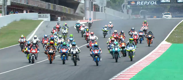 Video: FIM CEV Repsol, Catalunya Round – Moto3 race 2 highlights