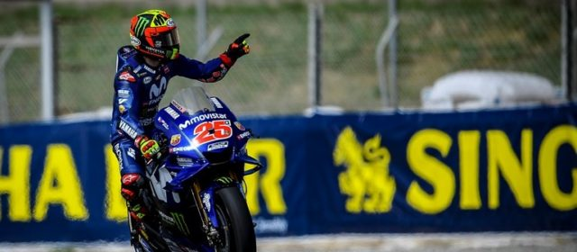 Maverick Viñales takes 4th in Catalunya qualifying