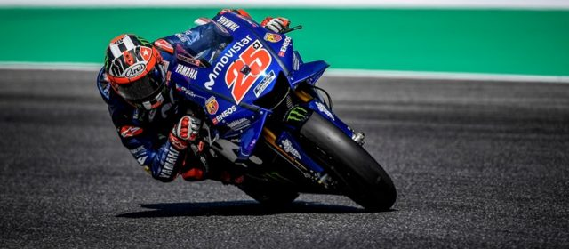 Front row start for Maverick Viñales in Italy