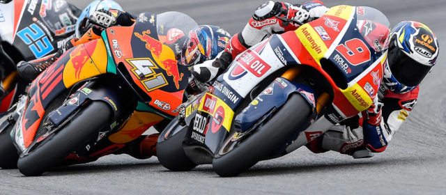 Jorge Navarro takes eighth place at Brno