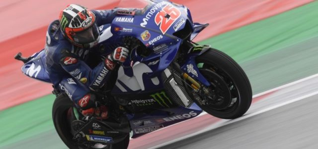 Maverick Viñales to Start Austrian GP from fourth row
