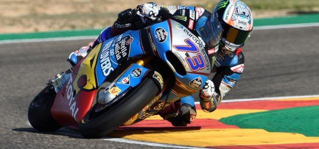 Alex Marquez to start on second row at MotorLand, Joan Mir qualifies 15th