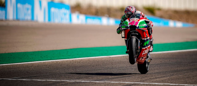 Aleix Espargaro rides to best result of the season with sixth at Aragon