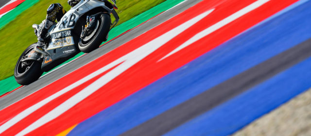 Fifth row start for Alvaro Bautista at Misano