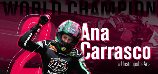 Ana Carrasco makes history to become WorldSSP300 Champion