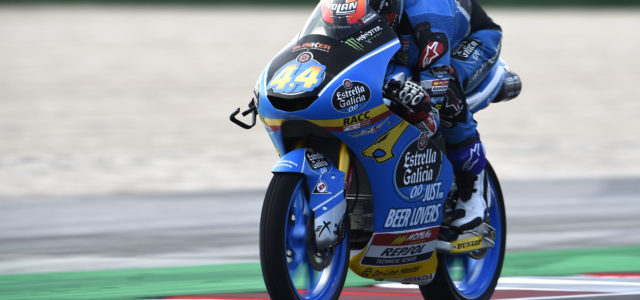 Front row for Aron Canet at San Marino GP and Alonso Lopez 30th