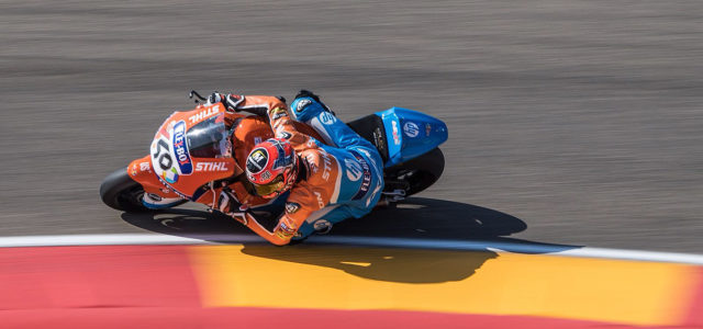 Augusto Fernandez ready to fight Aragon GP from eleventh on the grid